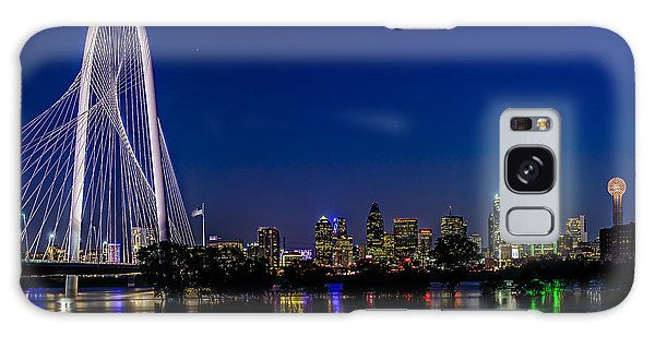 Dallas At Night Galaxy Case by Tamyra Ayles