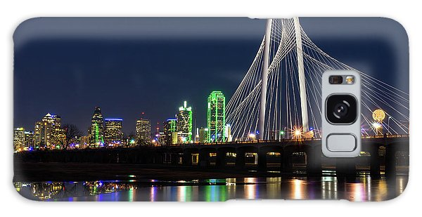 Dallas Bridge View Galaxy Case