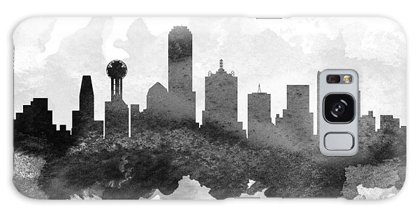 Dallas Cityscape 11 Galaxy Case by Aged Pixel