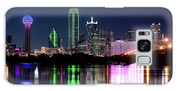 Dallas Colorful Night 52716 Galaxy Case