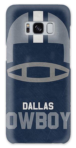 Dallas Cowboys Vintage Art Galaxy Case by Joe Hamilton