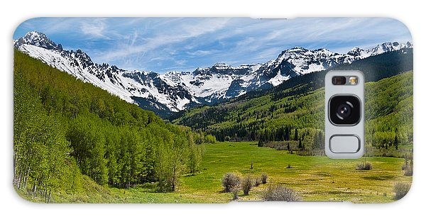 Dallas Creek Valley And The Sneffels Range Galaxy Case by Jeff Goulden