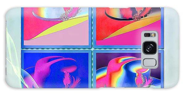 Galaxy Case featuring the digital art Dallas by Eleni Mac Synodinos