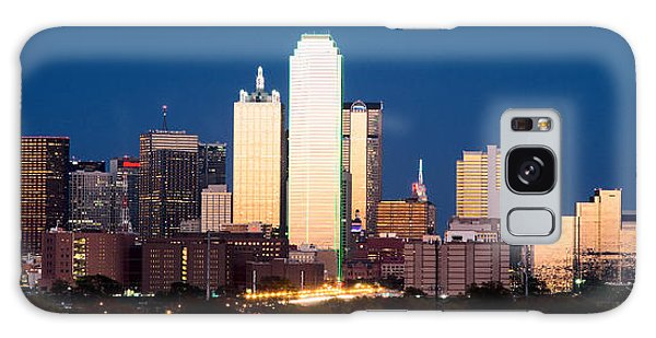 Dallas Golden Pano Galaxy Case