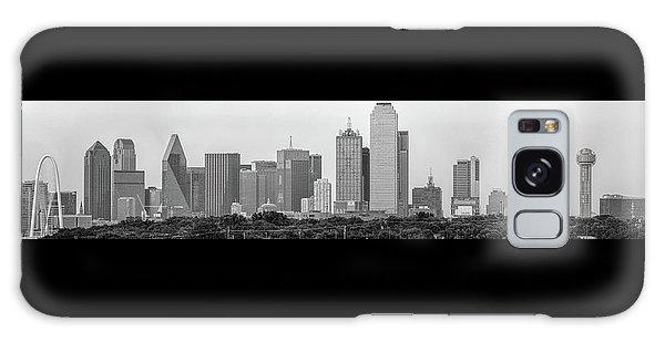 Dallas In Black And White Galaxy Case by Jonathan Davison