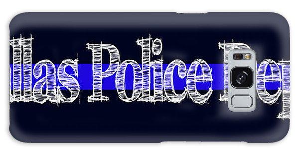 Dallas Police Dept. Blue Line Mug Galaxy Case