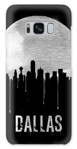 Dallas Galaxy S8 Case - Dallas Skyline Black by Naxart Studio