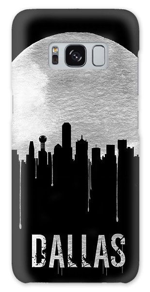 Moon Galaxy Case - Dallas Skyline Black by Naxart Studio
