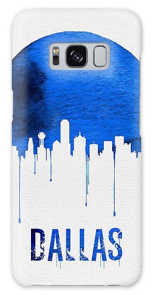 Dallas Skyline Blue Galaxy Case by Naxart Studio