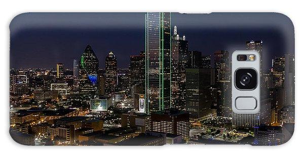 Dallas Skyline Evening Glow Galaxy Case