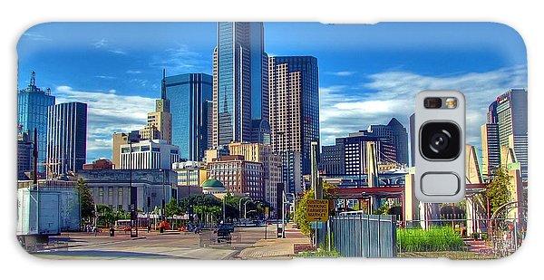 Dallas Skyline Galaxy Case