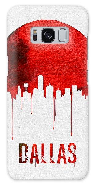 Dallas Skyline Red Galaxy Case by Naxart Studio