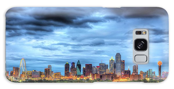 Dallas Galaxy S8 Case - Dallas Skyline by Shawn Everhart