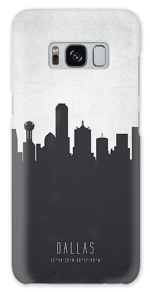Dallas Texas Cityscape 19 Galaxy Case by Aged Pixel