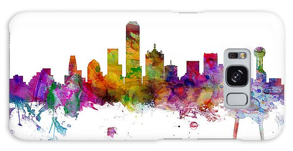 Dallas Texas Skyline Panoramic Galaxy S8 Case