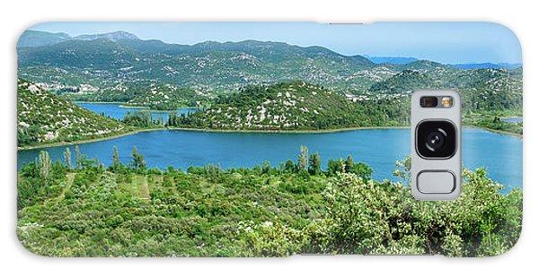 Dalmatian Coast Panorama, Dalmatia, Croatia Galaxy Case