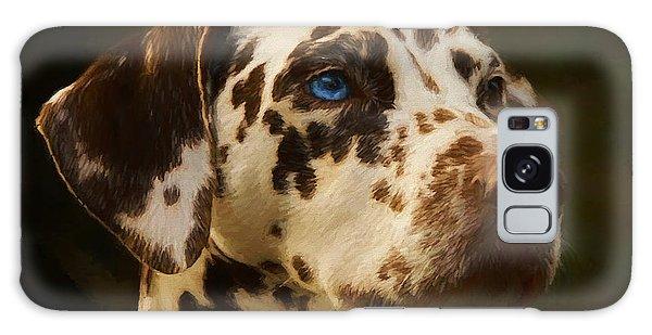 Dalmatian - Painting Galaxy Case