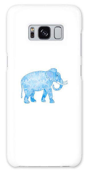 Damask Pattern Elephant Galaxy Case by Antique Images