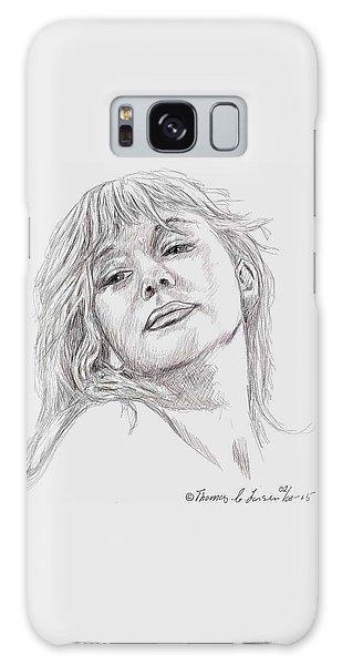 Dame Helen Mirren Galaxy Case