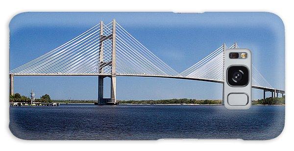 Dames Point Bridge Galaxy Case