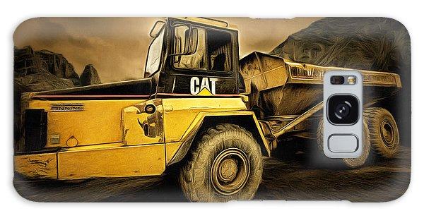 Dan Creek Rock Truck Galaxy Case
