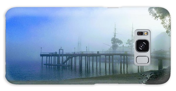 Dana Point Harbor When The Fog Rolls In Galaxy Case