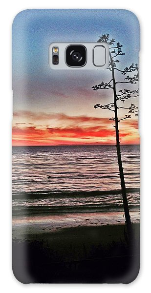 Dana Point Sunset Galaxy Case
