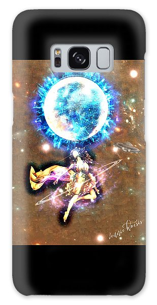 Dance Me To The Moon Galaxy Case