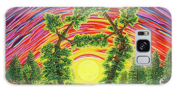Dance Of Sunset Galaxy Case