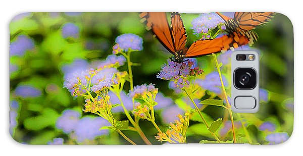 Dance Of The Butterflies Galaxy Case by Edward Peterson