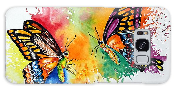 Dance Of The Butterflies Galaxy Case