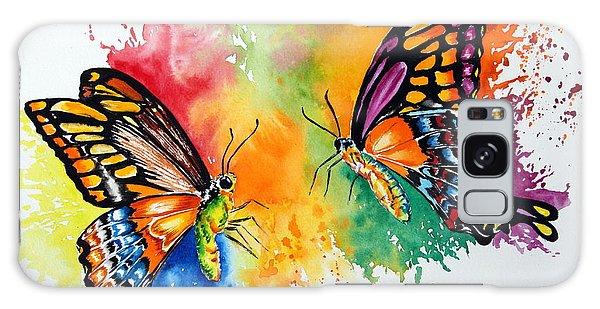 Dance Of The Butterflies Galaxy Case