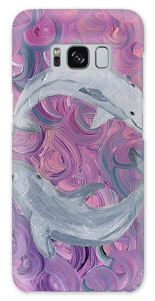 Dance Of The Dolphins Galaxy Case