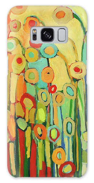 Floral Galaxy Case - Dance Of The Flower Pods by Jennifer Lommers