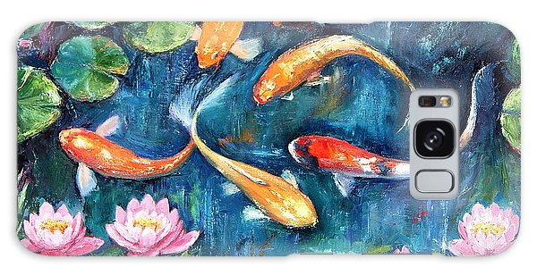 Dance Of The Koi Galaxy Case by Jennifer Beaudet