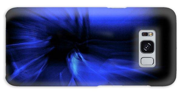 Dance Swirl In Blue Galaxy Case