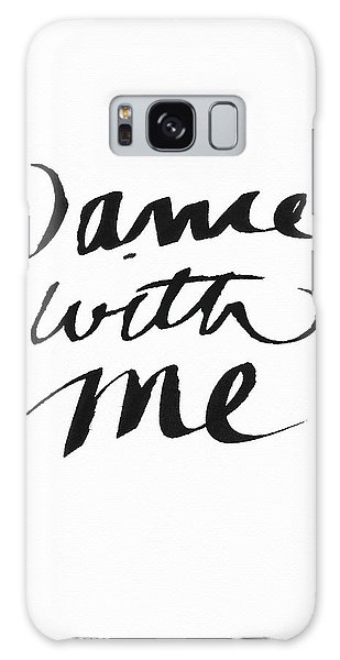 Dance With Me- Art By Linda Woods Galaxy Case