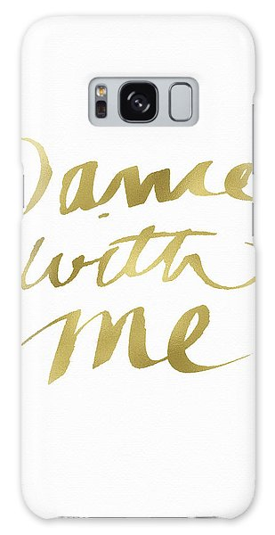 Tango Galaxy Case - Dance With Me Gold- Art By Linda Woods by Linda Woods