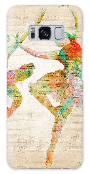 Dance With Me Galaxy Case by Nikki Smith