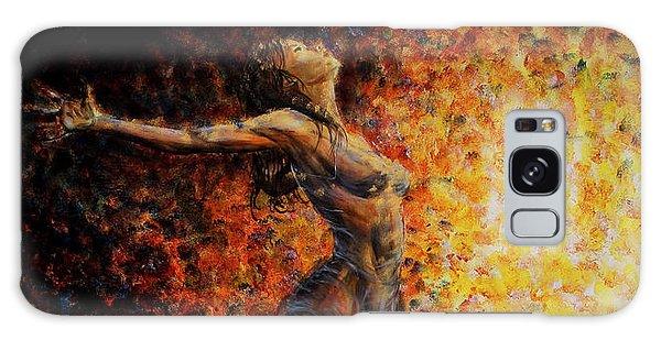 Dancer 03 Galaxy Case by Nik Helbig