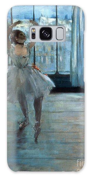 People Galaxy Case - Dancer In Front Of A Window by Edgar Degas