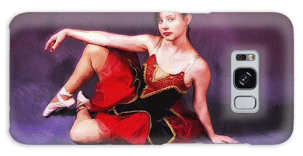 Dancer No. 6  ... Galaxy Case by Chuck Caramella