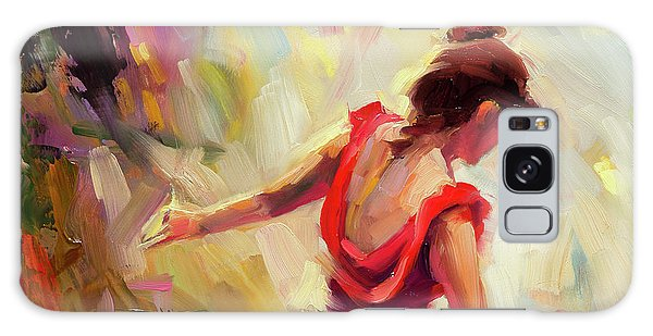 Galaxy Case featuring the painting Dancer by Steve Henderson