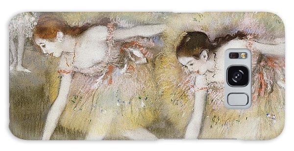 Dance Galaxy Case - Dancers Bending Down by Edgar Degas