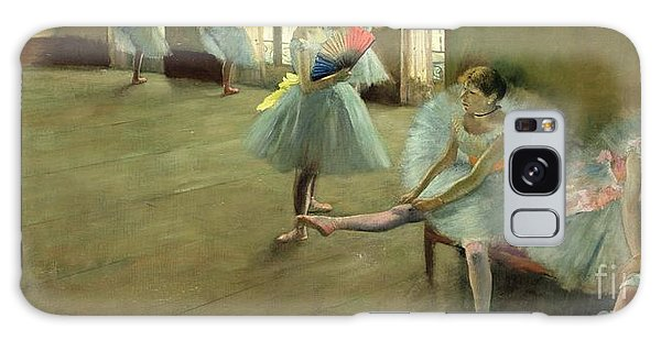 Dance Galaxy Case - Dancers In The Classroom by Edgar Degas