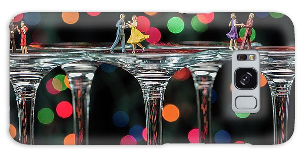 Dancers On Wine Glasses Galaxy Case