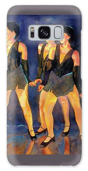 Dancers  Spring Glitz     Galaxy Case