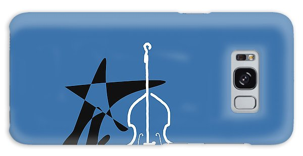 Dancing Bass In Blue Galaxy Case