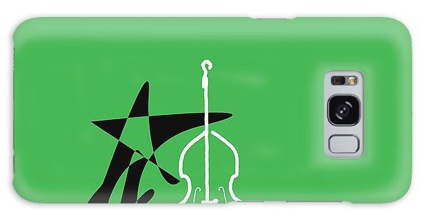 Dancing Bass In Green Galaxy Case