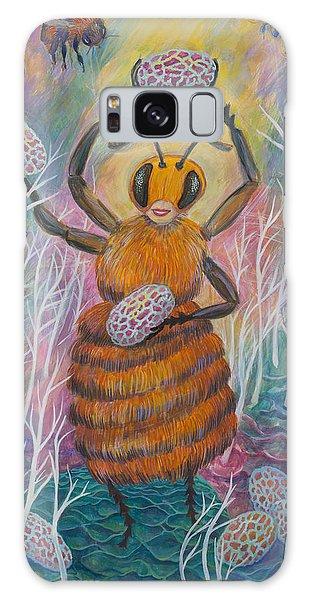 Dancing Bee Galaxy Case